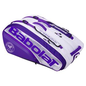 Wimbledon Pure Racquet Holder X 12 Tennis Bag