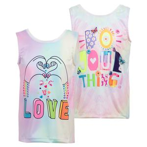Girls` Tie Back Tennis Tank