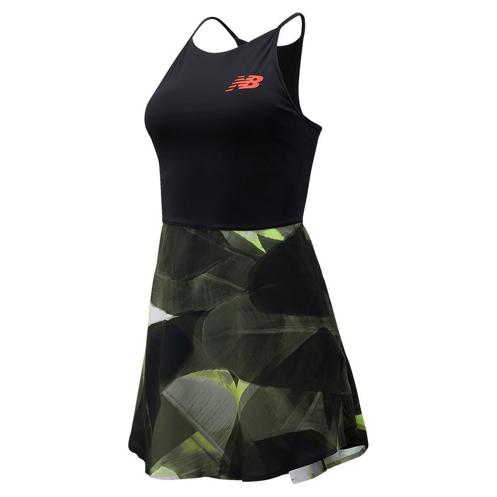 Women's Tournament Pleated Tennis Dress Multicolor