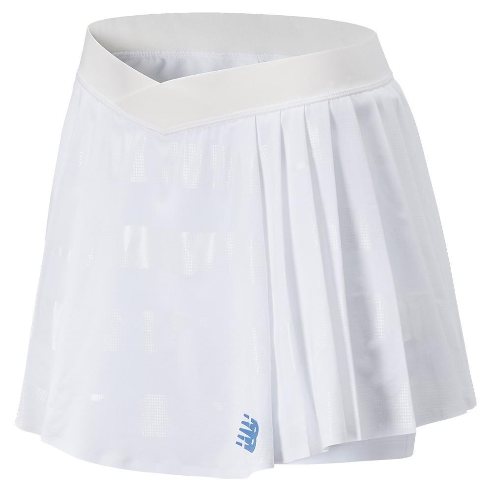 Women's Tournament Pleated Tennis Skort White