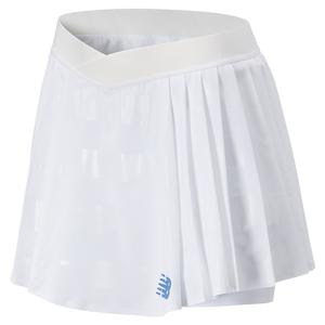 Women`s Tournament Pleated Tennis Skort White