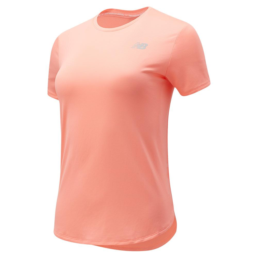 Women's Accelerate Short Sleeve Performance Top Paradise Pink