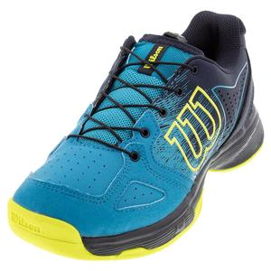 Juniors` Kaos QL Tennis Shoes Barrier Reef and Navy Blazer