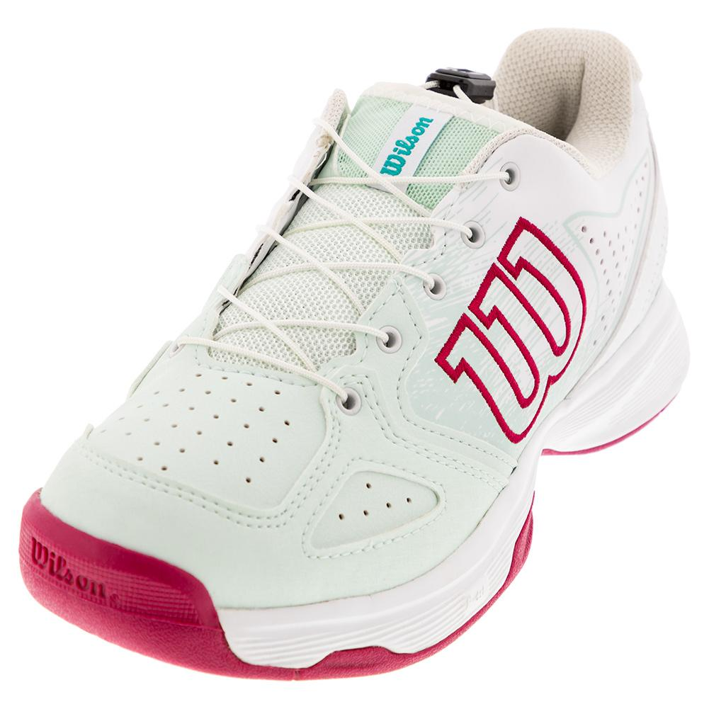 Juniors ` Kaos Ql Tennis Shoes Soothing Sea And White