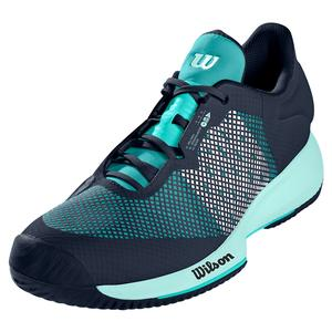Women`s Kaos Swift Tennis Shoes Outer Space and Aruba Blue