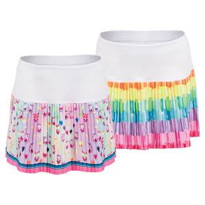 Girls` Pleated Tennis Skort