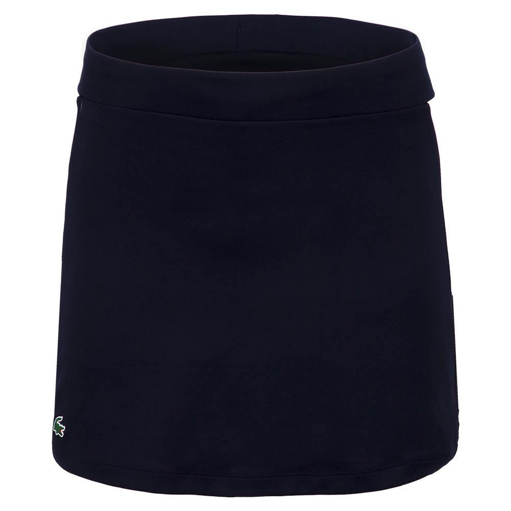 Women's Jupe Tennis Skirt Navy Blue And White