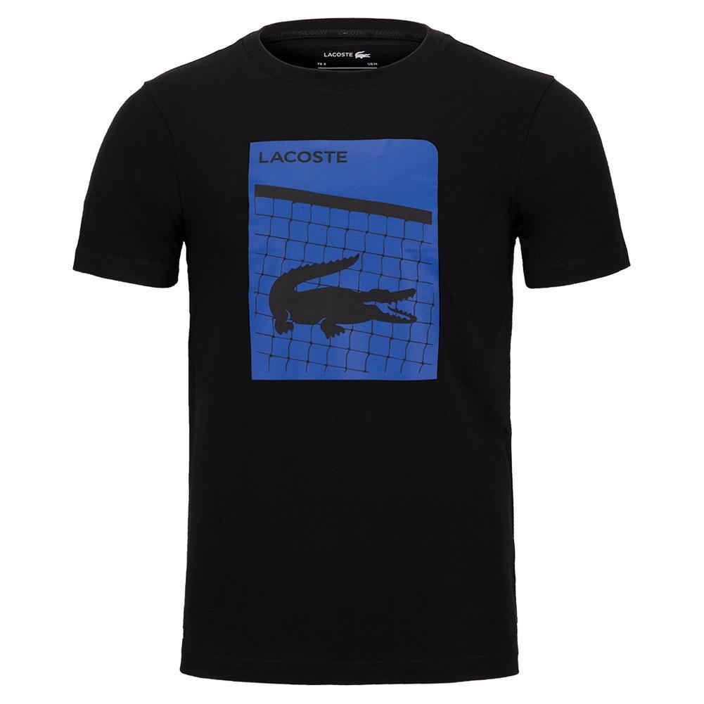 Men ' S Lacoste Sport 3d Print Breathable T- Shirt