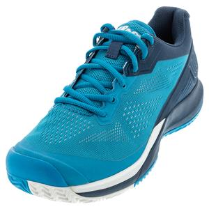 Men`s Rush Pro 3.5 Tennis Shoes Barrier Reef and Majolica Blue