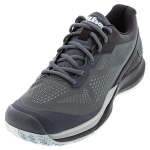Men`s Rush Pro 3.5 Tennis Shoes Turbulence and Black