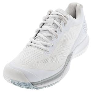 Women`s Rush Pro 3.5 Tennis Shoes White and Pearl Blue