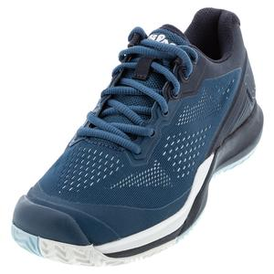 Women`s Rush Pro 3.5 Tennis Shoes Majolica Blue and Outer Space