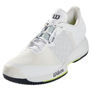Men`s Kaos Swift Tennis Shoes White and Outer Space