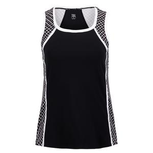 Women`s Elanie Tennis Tank Diamond Trail