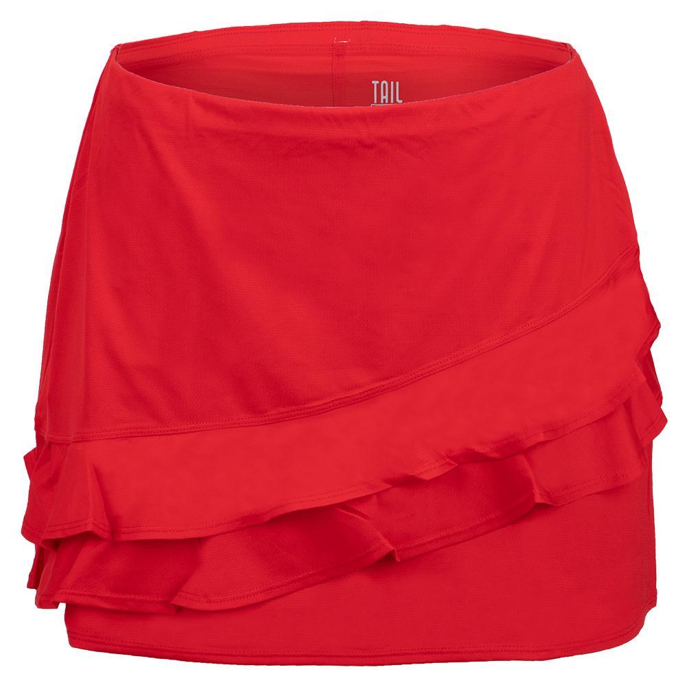 Women's Emberly 13.5 Inch Tennis Skort Crimson