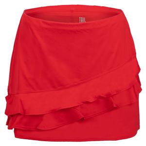 Women`s Emberly 13.5 Inch Tennis Skort Crimson