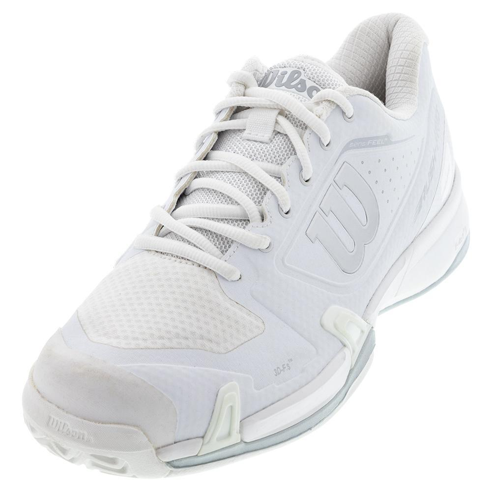 Women's Rush Pro 2.5 Wide Tennis Shoes White And Pearl Blue