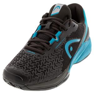 Men`s Revolt Pro 3.5 Tennis Shoes Raven and Capri