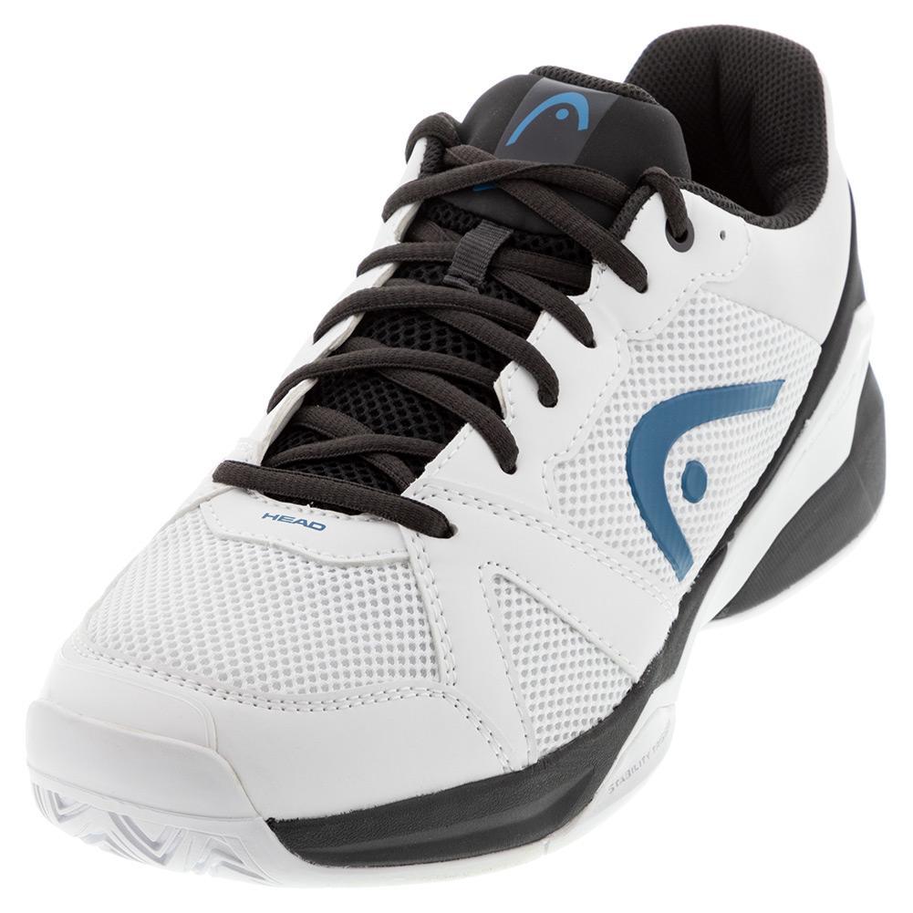 Men's Revolt Evo Tennis Shoes White And Black