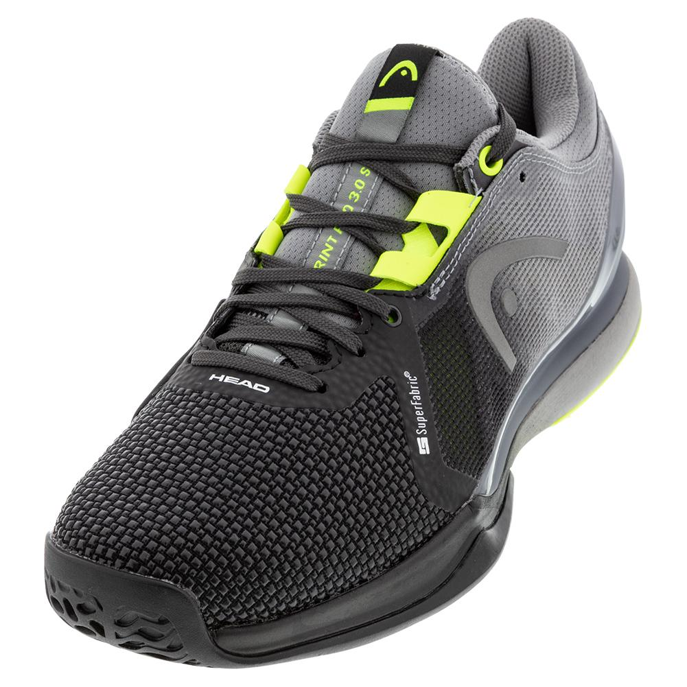 Men's Sprint Pro 3.0 Sf Tennis Shoes Black And Yellow