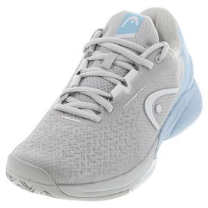 Women`s Revolt Pro 3.5 Tennis Shoes Grey and Light Blue