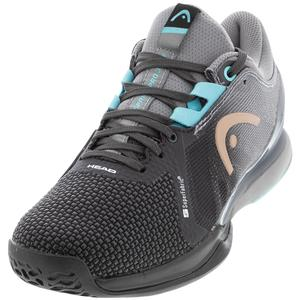 Women`s Sprint Pro 3.0 SF Tennis Shoes Black and Blue