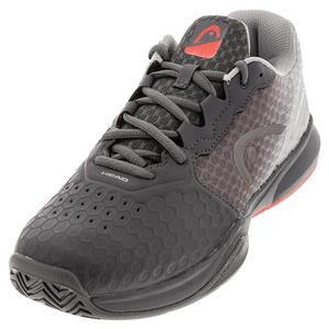 Men`s Revolt Team 3.5 Tennis Shoes Asphalt and Grey