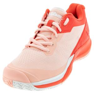 Women`s Rush Pro 3.5 Tennis Shoes Tropical Peach and Hot Coral