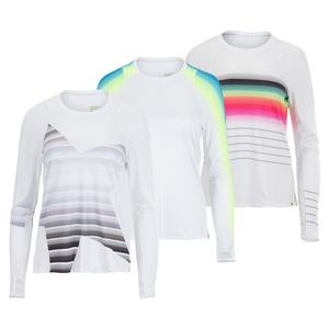 Women`s Long Sleeve Tennis Top