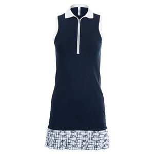 Women`s Ava Tennis Dress Midnight and Print