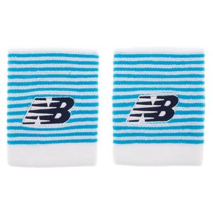Xlong Tennis Wristbands Blue and White