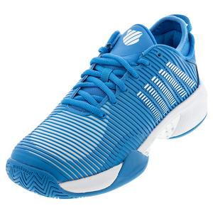 Men`s Hypercourt Supreme Tennis Shoes Swedish Blue and White