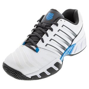 Men`s Bigshot Light 4 Tennis Shoes White and Dark Shadow