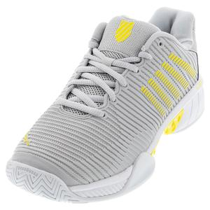 Women`s Hypercourt Express 2 Tennis Shoes Lunar Rock and Buttercup