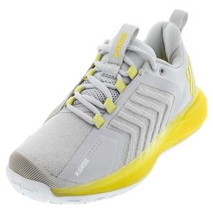 Women`s Ultrashot 3 Tennis Shoes Lunar Rock and Buttercup