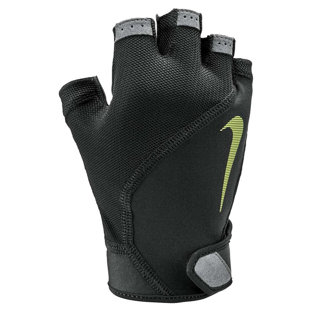 Men's Elemental Fitness Gloves Black And Dark Grey