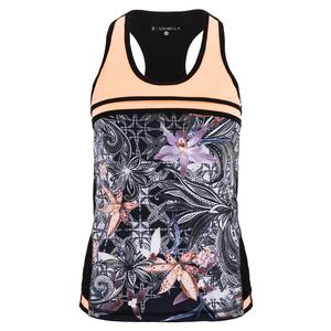 Women`s Tennis Cami Orchid and Souffle