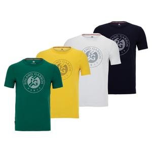 Men`s Roland Garros 2021 Performance Tennis Tee-Shirt