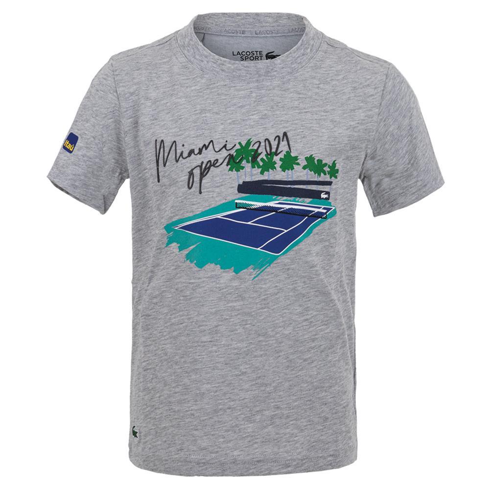 Boys ` Miami Open 2021 Tennis T- Shirt