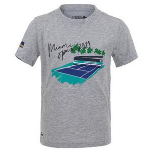 Boys` Miami Open 2021 Tennis Tee-Shirt