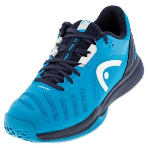 Men`s Sprint Team 3.0 Tennis Shoes Raven and Ocean