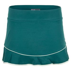 Women`s Axel Tennis Skort Spruce and Pastel Green
