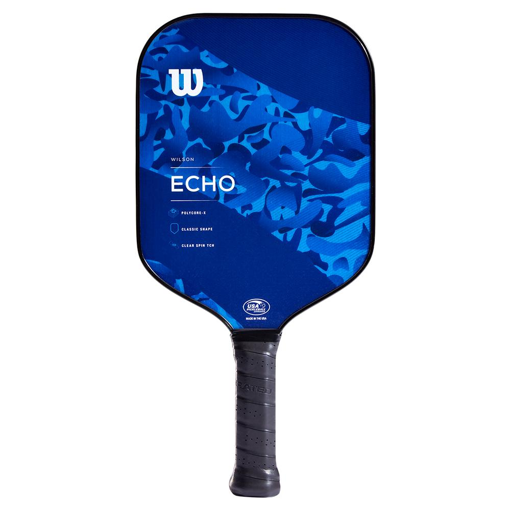 Echo Camo Pickleball Paddle Blue