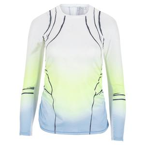 Women`s Long Sleeve Tennis Top Going Wild