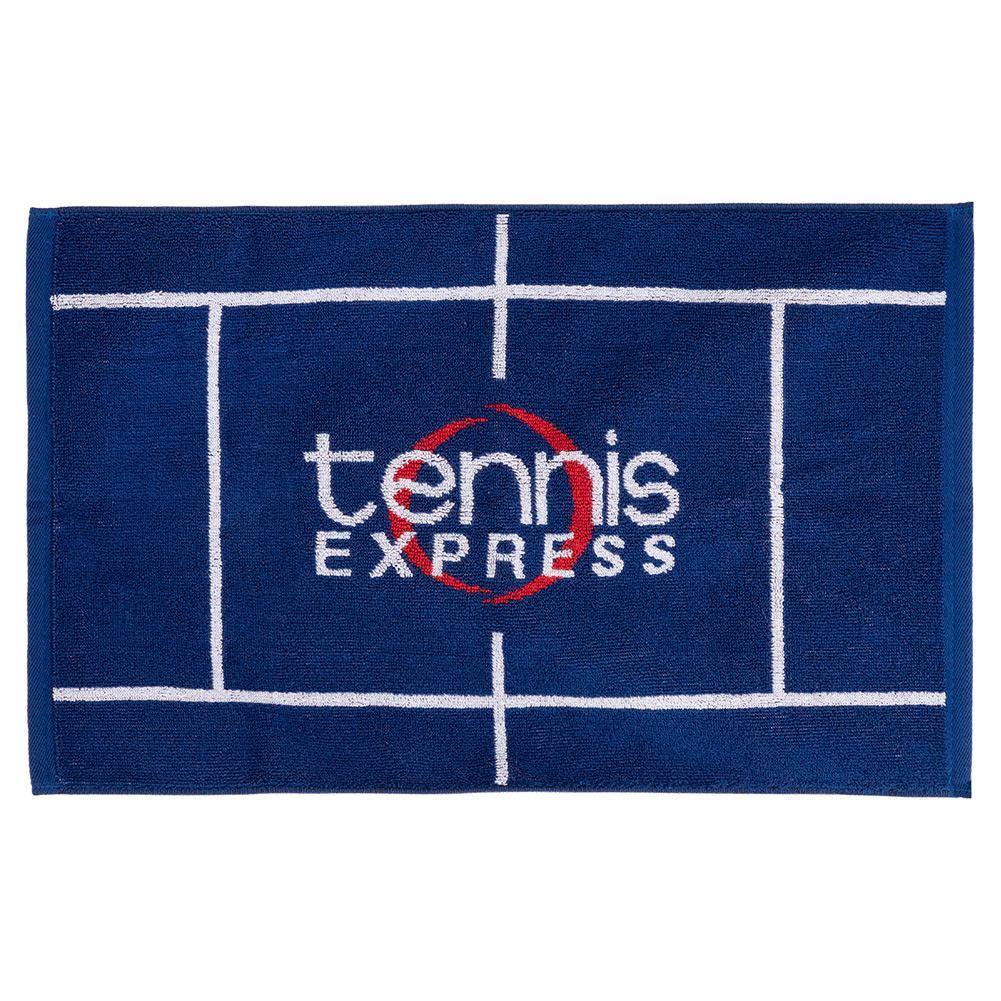 Logo Fitness Towel Blue