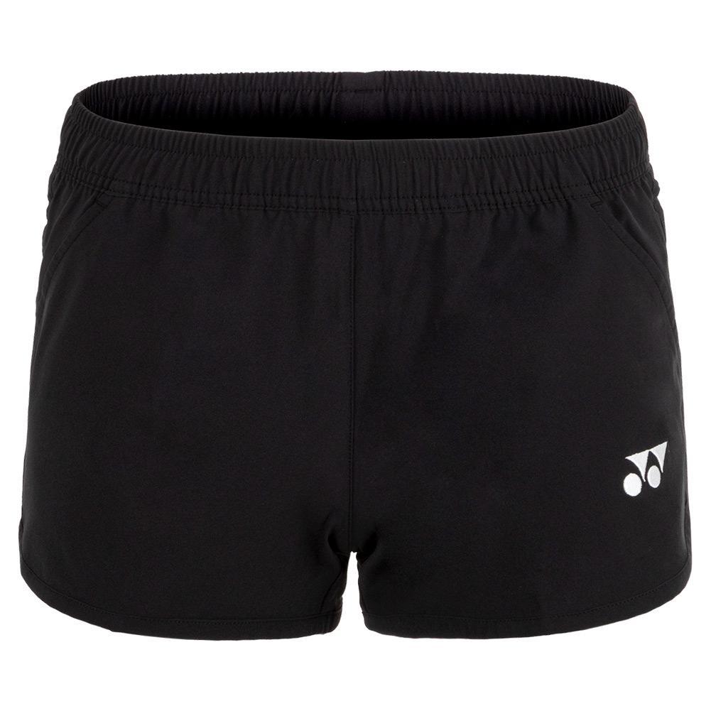 Women's Practice Tennis Shorts Black