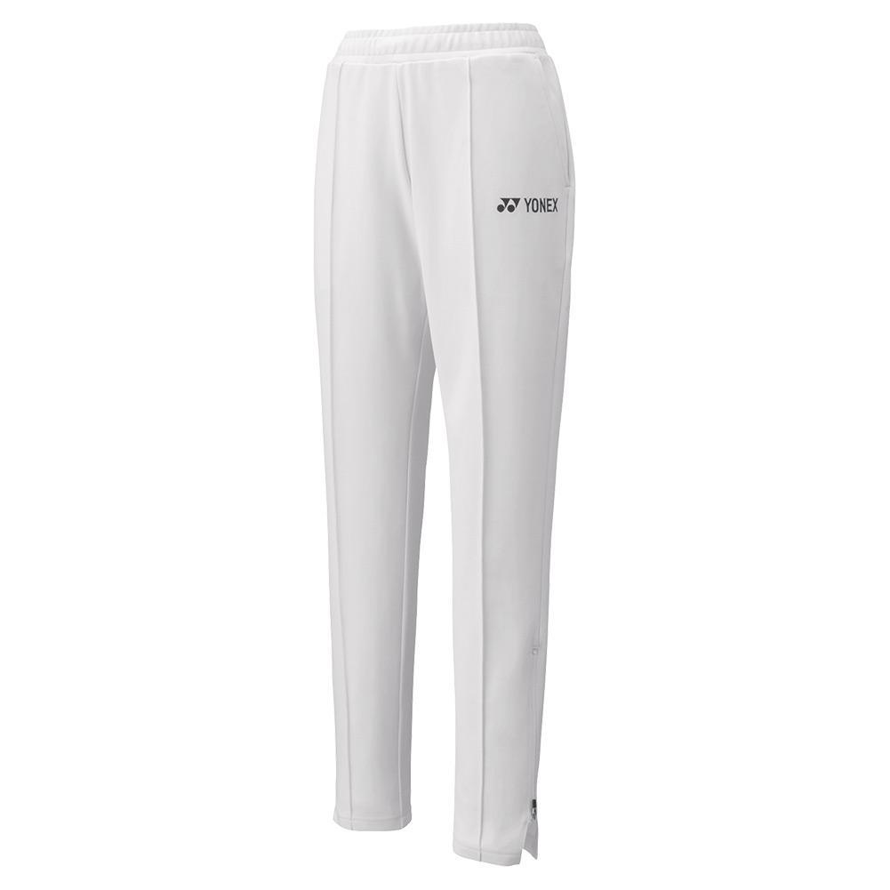 Women's 75th Elite Warm- Up Tennis Pants White