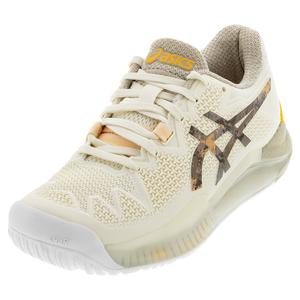 Women`s GEL-Resolution 8 LE Tennis Shoes Cream and Putty