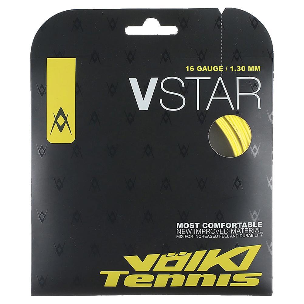 V- Star Tennis String Neon Yellow
