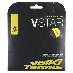 V-Star Tennis String Neon Yellow